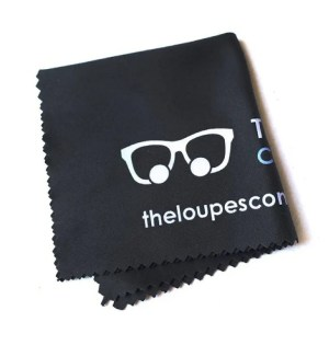 Loupes cleaning cloth