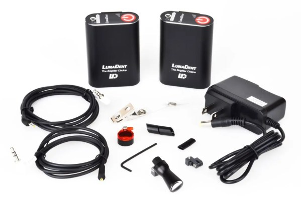 lumadent LED headlight bundle