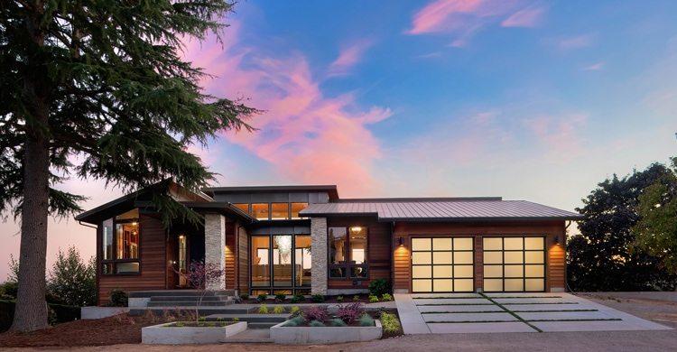 Selling custom home in dusk