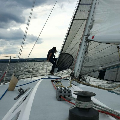 Sailing In Port Dover