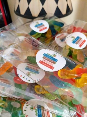 Gummy Bookworms