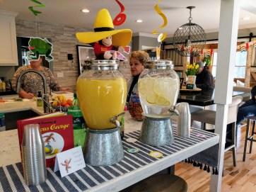 Lemonade Punch & Lemon Water