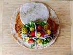 Quick Lunch Recipe Pesto Turkey Wrap