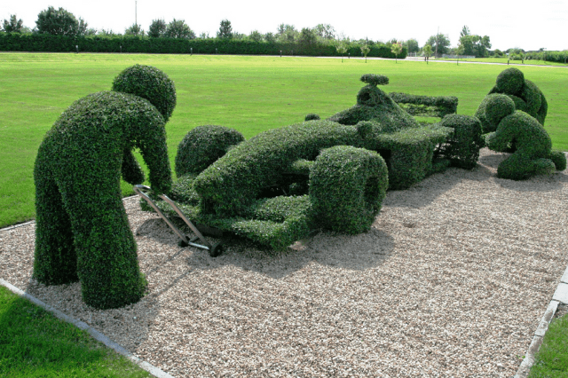 Racer F1 Topiary