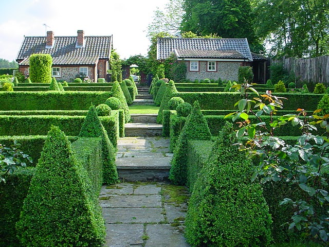 palácio topiary