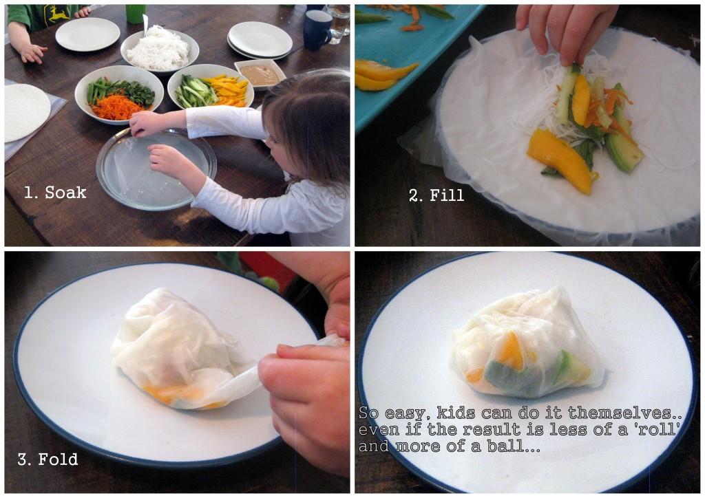 5yo DIY rolls