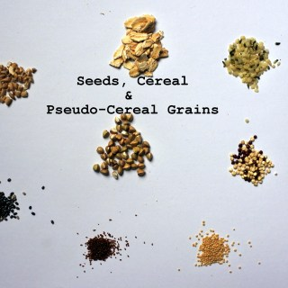 Seeds, Cereal & Pseudo-Cereal Grains