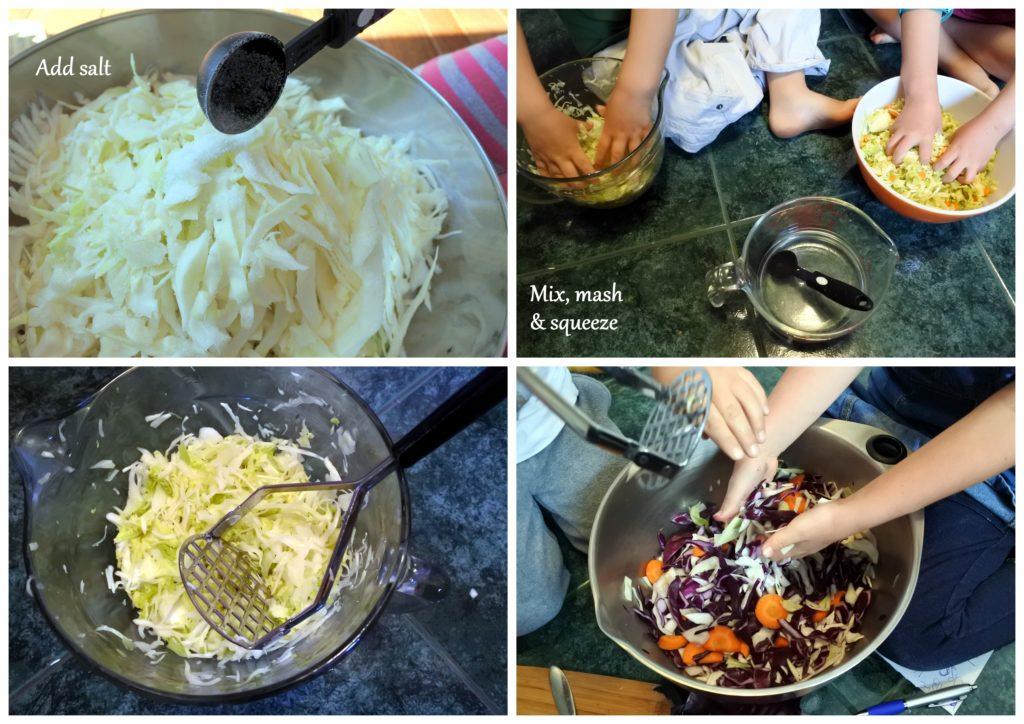 sauerkraut probiotic gut health recipe ottawa foodie zero waste fermented lacto-fermentation