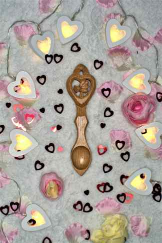 Blossoming Heart Lovespoon