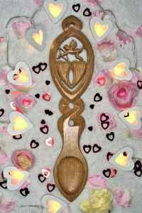 Cupid's Arrow Lovespoon