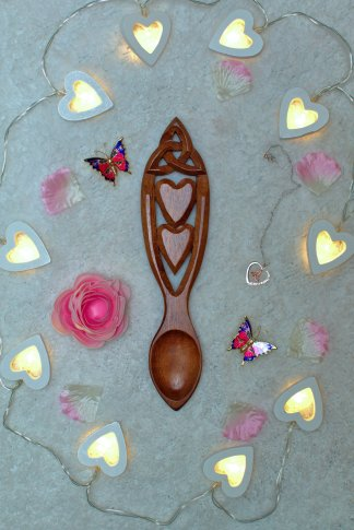 Celtic Dreams Lovespoon