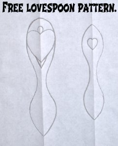 simple lovespoon patterns