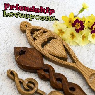 Friendship lovespoons