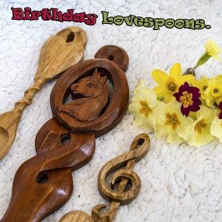 Birthday Lovespoons