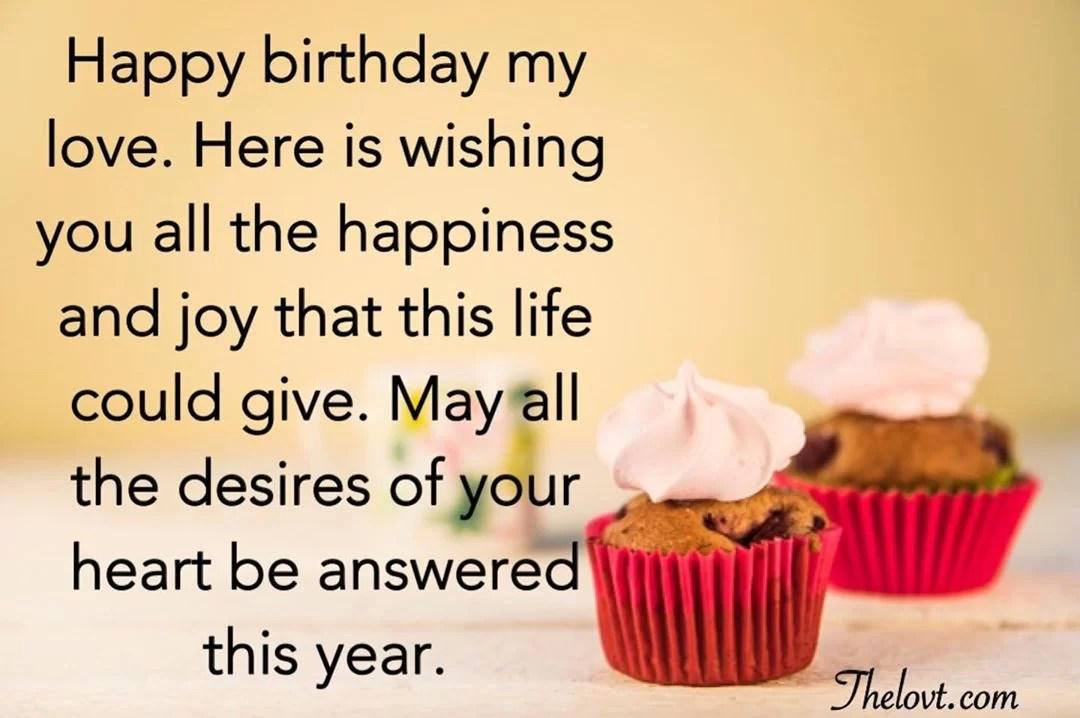 Uplifting Birthday Wishes For Boyfriend - TheLovt