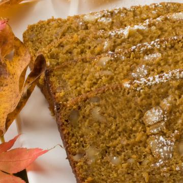 Pumpkin, Spice & Everything Nice Tea Bread | LunaCafe