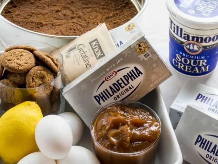 Dreamy, Creamy, No-Bake Pumpkin Butter Cheesecake | LunaCafe