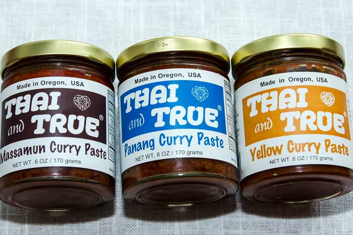 Thai and True Curry Pastes