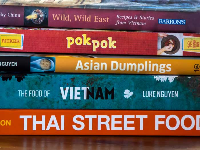 Some of My Newest Asian Cookbooks