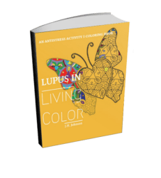 Lupus in Living Color Coloring Book