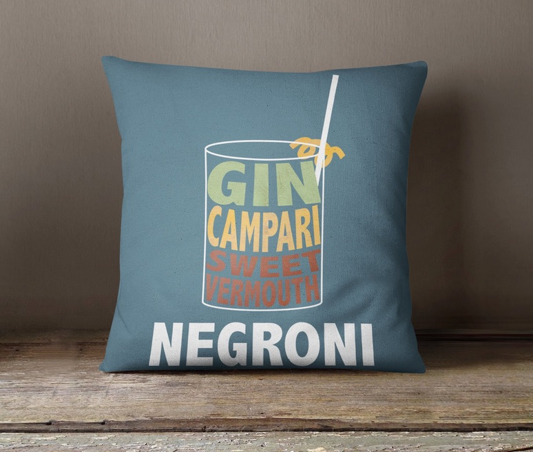 Negroni pillow