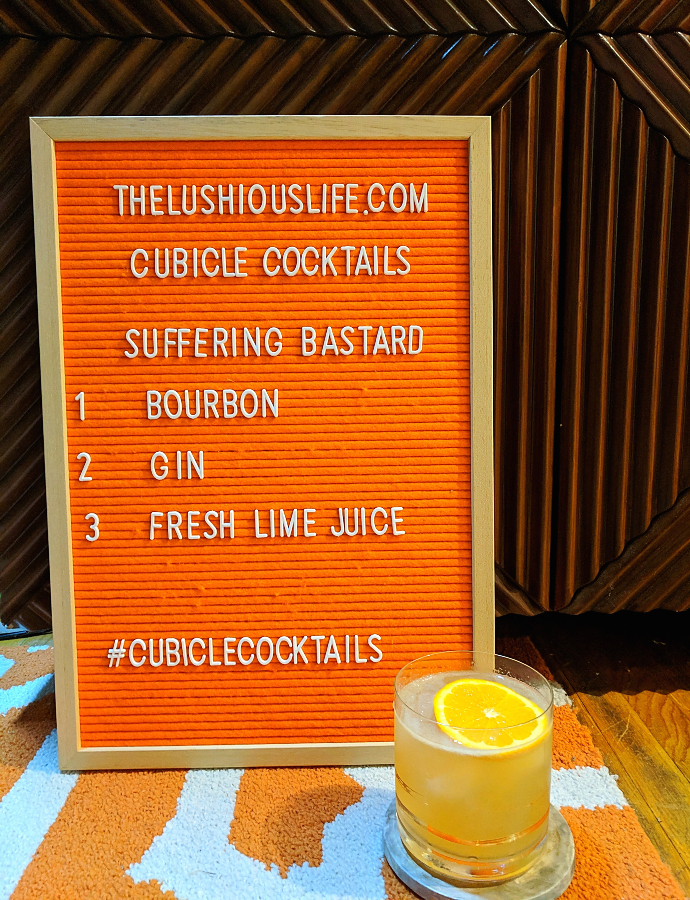 Cubicle Cocktails: Suffering Bastard
