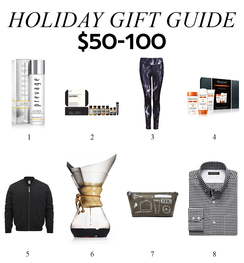 Holiday Gift Guide: $50-100