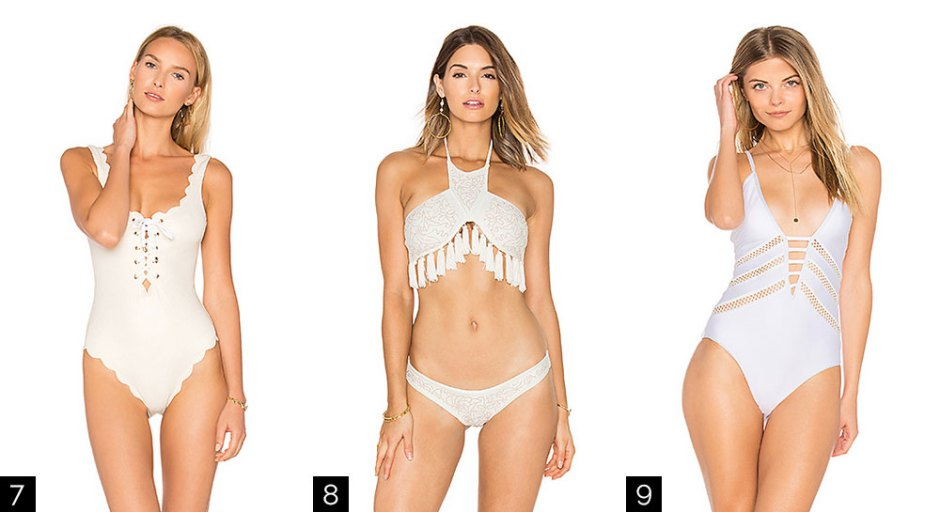 9 White Hot Swimsuits for the Summer