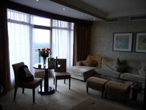 Hilton Park Lane - Park Lane Suite living-room