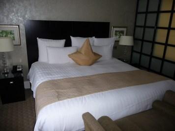 Hilton Park Lane - Park Lane Suite bed