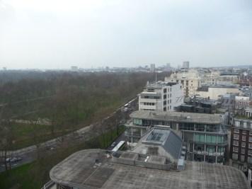Hilton Park Lane - Park Lane Suite view from balcony