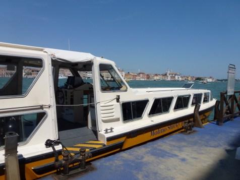 Hilton Molino Stucky - Private Hilton boat