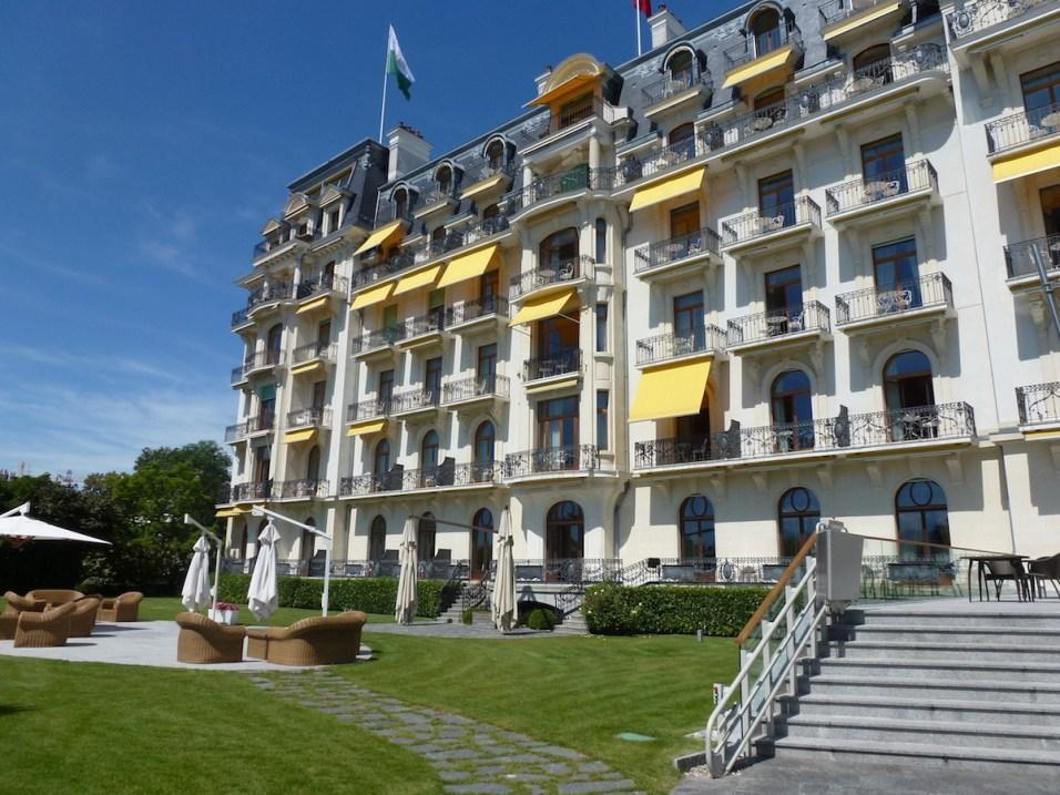 Beau-Rivage Palace - Facade