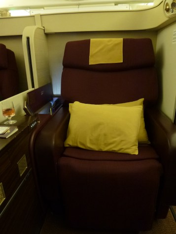 Thai Airways Royal First Class - Seat