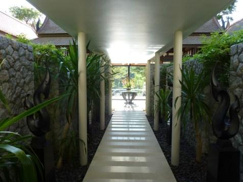 Banyan Tree Phuket - DoublePool Villa entrance