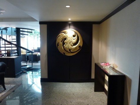 Banyan Tree Bangkok - Presidential Suite entrance