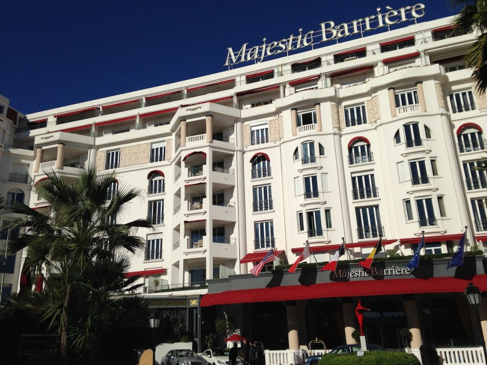 Majestic Barriere Cannes - Facade