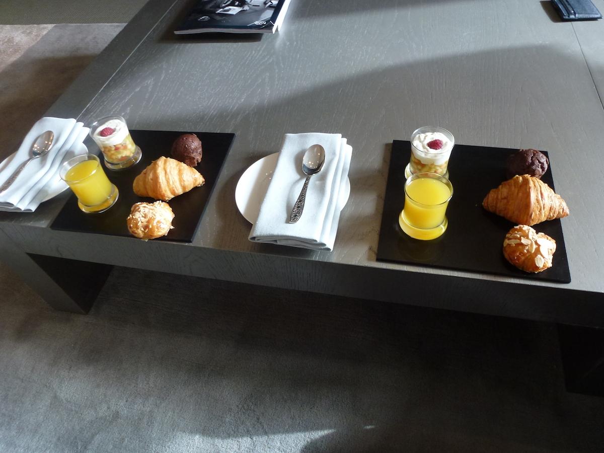 Armani Dubai - Welcome amenities