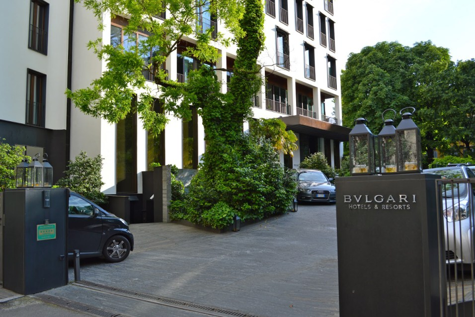 Bulgari Milan - Entrance