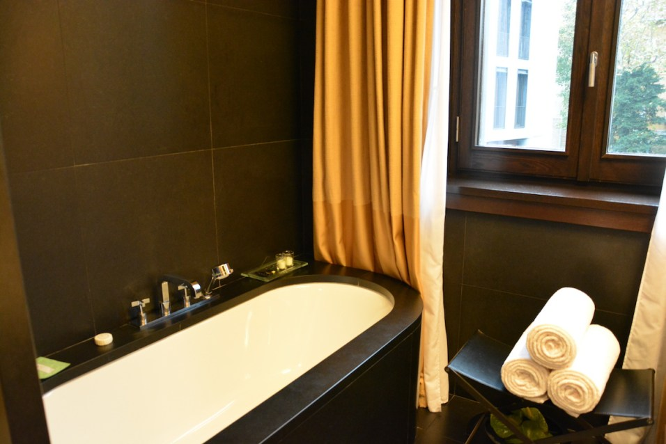 Bulgari Milan - Special Room bathtube