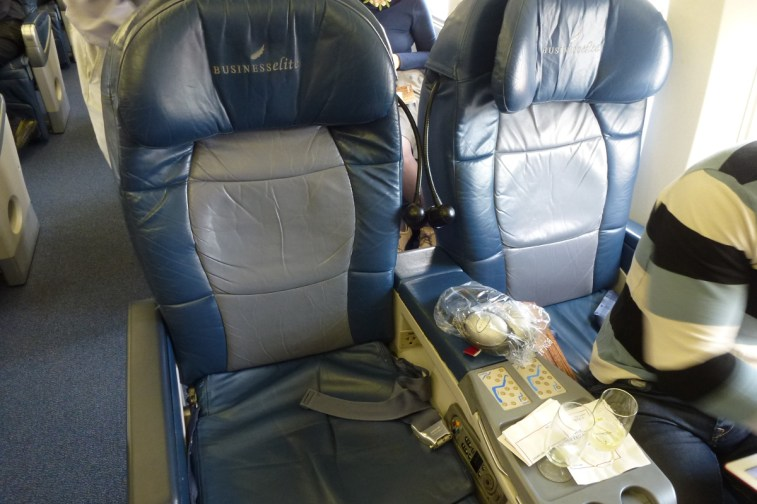 Delta Airlines Business Class - Seat