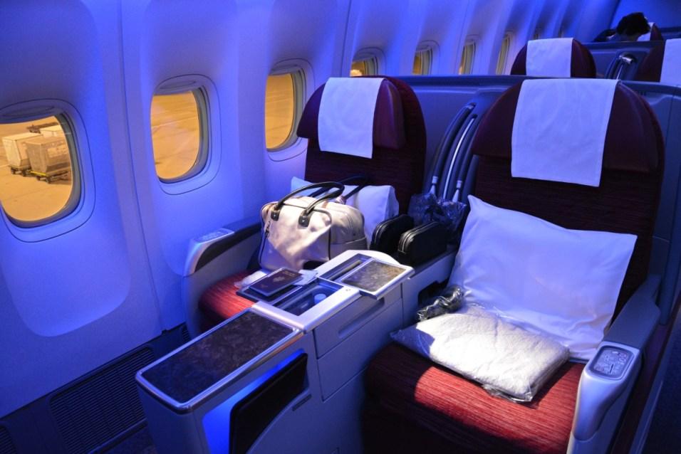 Qatar Airways Business Class - Seat