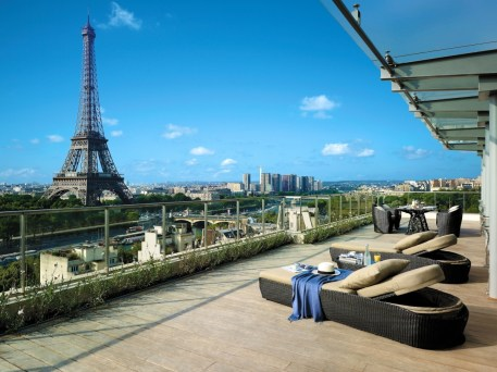 Shangri-La Paris - View of Eiffel Tower