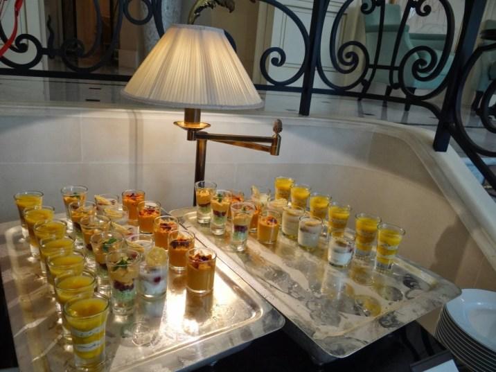 Shangri-La Paris - La Bauhinia brunch appetizers buffet