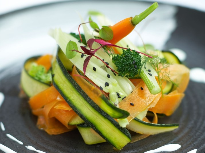 Metropolitan London raw salad