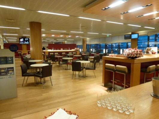 Air France Business Class lounge Paris - Main area