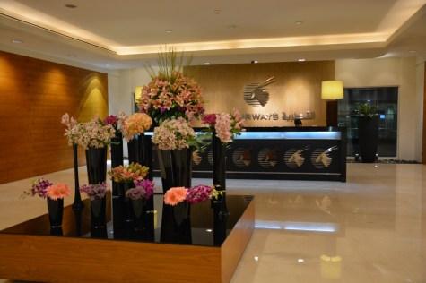Qatar Airways Premium Terminal - Front Desk
