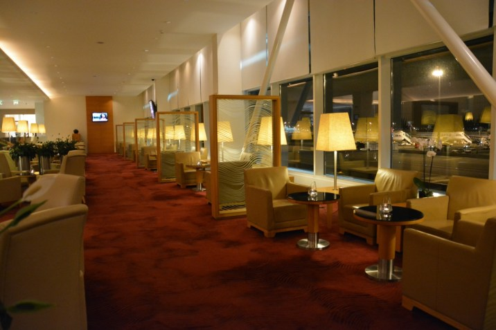 Qatar Airways Premium Terminal - First Class lounge