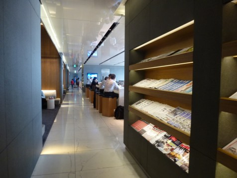 Cathay Pacific The Cabin lounge - Library