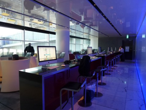 Cathay Pacific The Cabin lounge - Communication